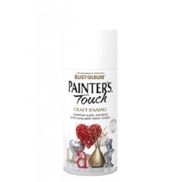 GLOSS WHITE Rust-oleum Fast Dry Enamel Spray Paint Aerosol 150ml