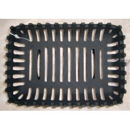 "18"" Cromwell Cast Iron Fire Grate Dog Basket for real Coal Log Solid Fuel 4 Legs"