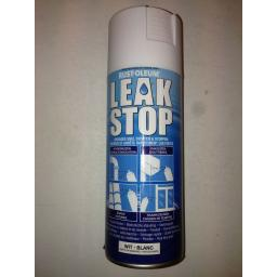 LEAK STOP WHITE MATT PRIMER RUST-OLEUM Fast Dry Spray Paint Aerosol 400ml