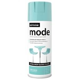 MODE PURE AQUA HIGH GLOSS RUST-OLEUM Fast Dry Spray Paint Aerosol 400ml