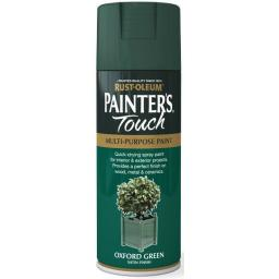 OXFORD GREEN SATIN Fast Dry Spray Paint Aerosol 400ml
