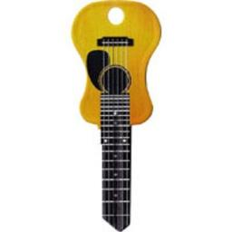 Acoustic Guitar Rockin' Keys Blank Key fits Yale 1A/U5D
