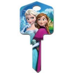 Licensed Disney Frozen Elsa and Anna Keys Blank Key fits Yale 1A/U6D