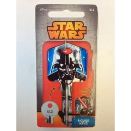 Star Wars DARTH VADER Blank Key fit Yale 1A/U6D/UL2 Lightsabre The Force Awakens