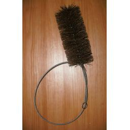 """5"""" inch Wide 5 Foot Flue Brush Chimney Soot Cleaning Sweeping Coal Fire Sweep"""