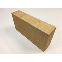 """Fire Brick House Brick Size - Coal Solid Fuel Open Clay Pizza Oven 9""""x 4.5""""x 2"""""""