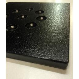 HEAVY DUTY SOLID STEEL Square & Round Gully Grid Driveway Drain Cover Cast Iron