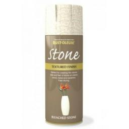 STONE EFFECT BLEACHED STONE RUST-OLEUM Spray texture & feel Paint Aerosol 400ml