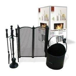 3 Piece Starter Set Fire Screen Guard & Companion Set