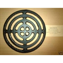 "7.75"" ROUND Cast Iron Gully Grid Driveway Drain Cover"