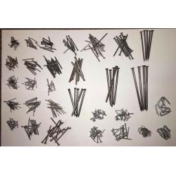All Sizes - DIY Nails - Round Head - Oval - Clout - Ring Shank - Fencing Staples