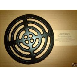"""9"""" ROUND Cast Iron Gully Grid Driveway Drain Cover"""