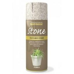 STONE EFFECT PEBBLE RUST-OLEUM Spray texture & feel Paint Aerosol 400ml