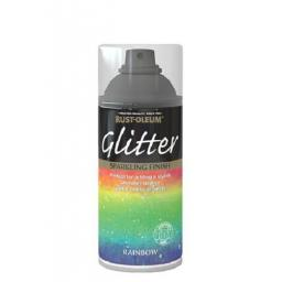 RAINBOW GLITTER SPARKLING FINISH RUST-OLEUM Toy Safe Spray Paint Aerosol 150ml