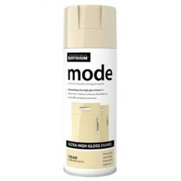 MODE CREAM HIGH GLOSS RUST-OLEUM Fast Dry Spray Paint Aerosol 400ml