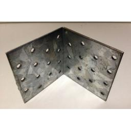 !!NEW!! 80x80 HEAVY DUTY Galvanised Steel Angle L Corner Bracket Repair Mending