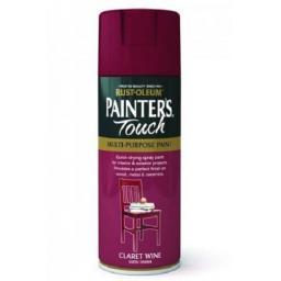 Claret Wine Satin Fast Dry Spray Paint Aerosol 400ml