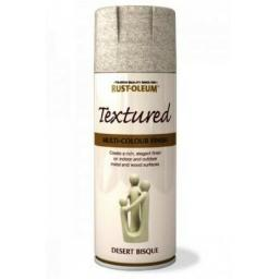TEXTURED DESERT BISQUE RUST-OLEUM Spray texture & feel Paint Aerosol 400ml