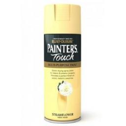 Strawflower Satin Fast Dry Spray Paint Aerosol 400ml