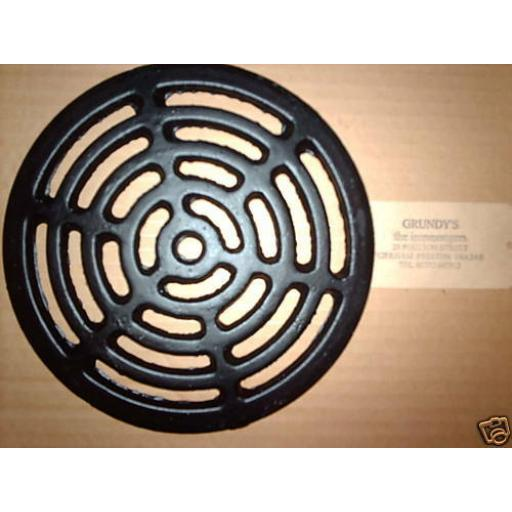 """12"""" ROUND Cast Iron Gully Grid Driveway Drain Cover"""