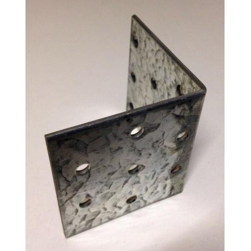 !!NEW!! 60x60 HEAVY DUTY Galvanised Steel Angle L Corner Bracket Repair Mending