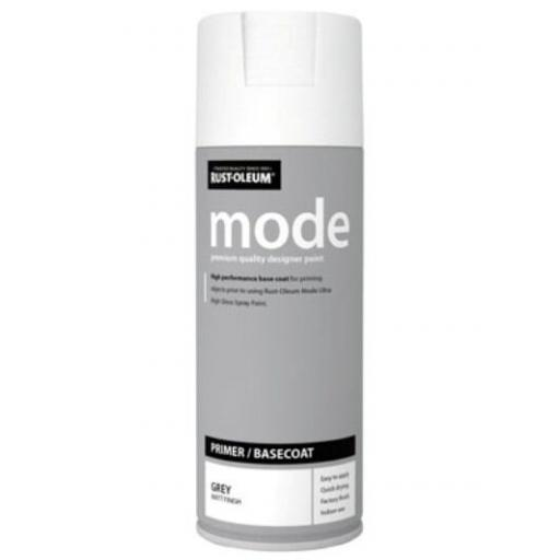 MODE PRIMER BASECOAT RUST-OLEUM Fast Dry Spray Paint Aerosol 400ml GREY MATT