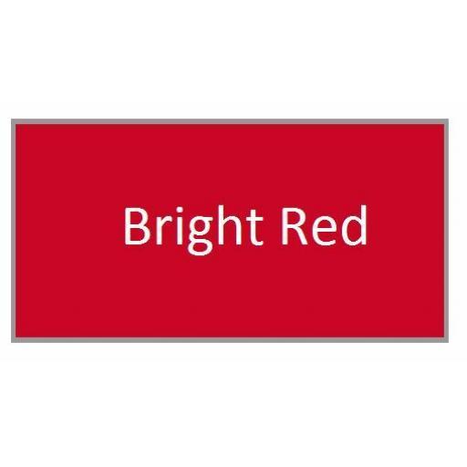 BRIGHT RED GLOSS Enamel TOY SAFE Interior / Exterior Brush Paint Pot Tub 20ml