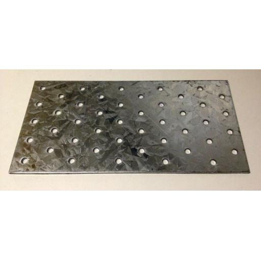 !!NEW!! 20cmx10cm HEAVY DUTY Galvanised Steel Flat Mending Plate Bracket Repair