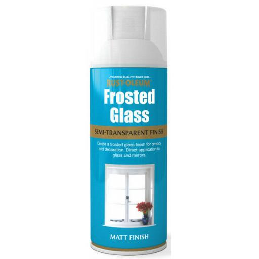 FROSTED CLOUDY GLASS Fast Dry Spray Paint Aerosol 400ml