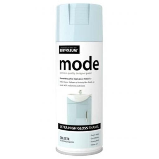 MODE CELESTE HIGH GLOSS RUST-OLEUM Fast Dry Spray Paint Aerosol 400ml