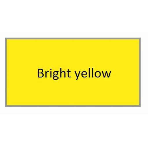 BRIGHT YELLOW GLOSS Enamel TOY SAFE Interior / Exterior Brush Paint Pot Tub 20ml