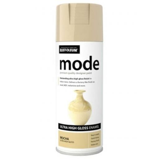 MODE MOCHA HIGH GLOSS RUST-OLEUM Fast Dry Spray Paint Aerosol 400ml