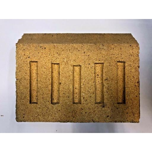 "9"" inch Fire Brick BACK for Coal Solid Fuel Open Fires 9"" wide x 6"" high Pizza"