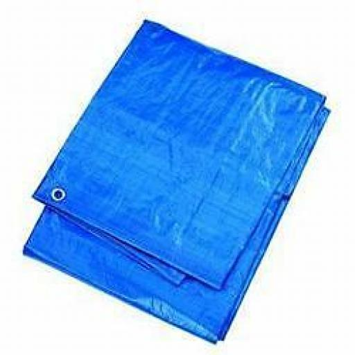 Heavy Duty Tarpaulin 7.6m x 5.5m Ground Sheet 25'x18'