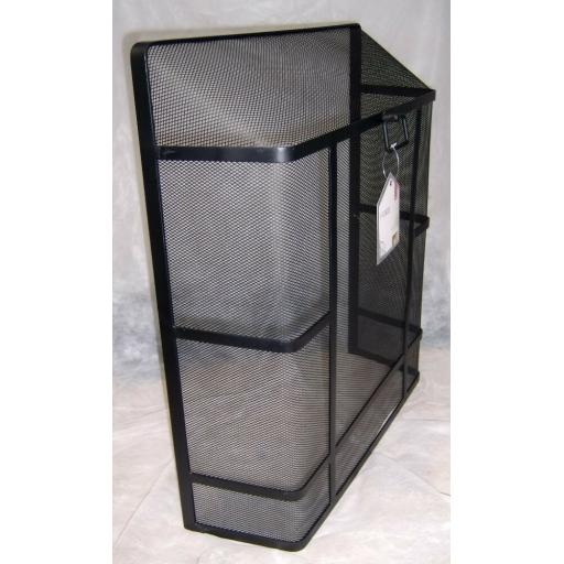 """Deville Heavy Duty Square Top Fire Screen Spark Guard 24""""x21"""" with carry ring"""
