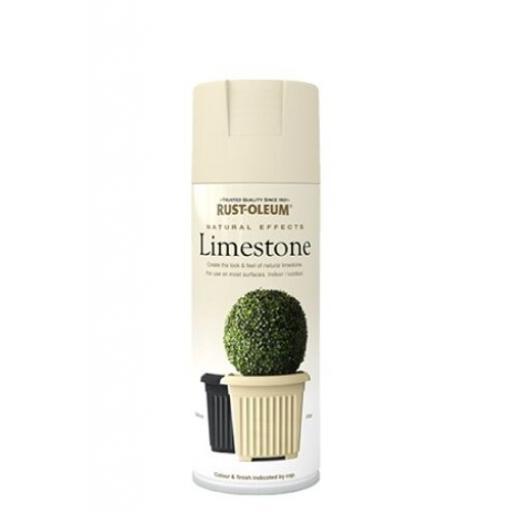 NATURAL EFFECTS LIMESTONE RUST-OLEUM Spray texture & feel Paint Aerosol 400ml
