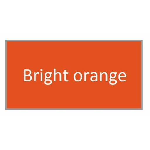 BRIGHT ORANGE GLOSS Enamel TOY SAFE Interior / Exterior Brush Paint Pot Tub 20ml