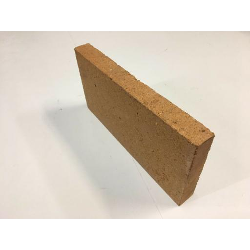 "Fire Brick House Brick Size - Coal Solid Fuel Open Clay Pizza Oven 9""x 4.5""x 1"""