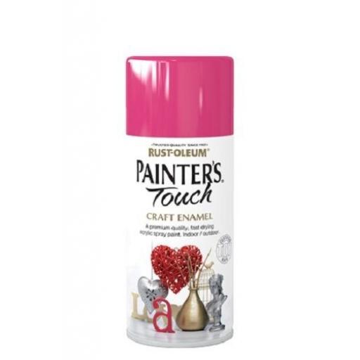 BLOSSOM PINK Rust-oleum Fast Dry Enamel Spray Paint Aerosol 150ml