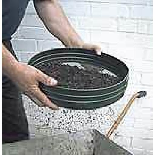 "Quality 3/8"" Garden Riddle 14"" Diameter Soil Treatment"