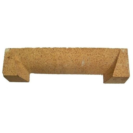 """!!NEW!! 18 """" Inch Clay Fire Lintel Solid Fuel Coal Fire for Open FireBack"""