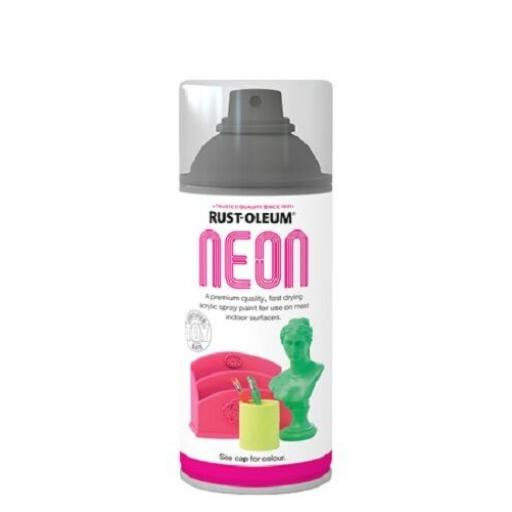 NEON GREEN PAINT RUST-OLEUM Toy Safe Vinyl Spray Paint Aerosol 150ml