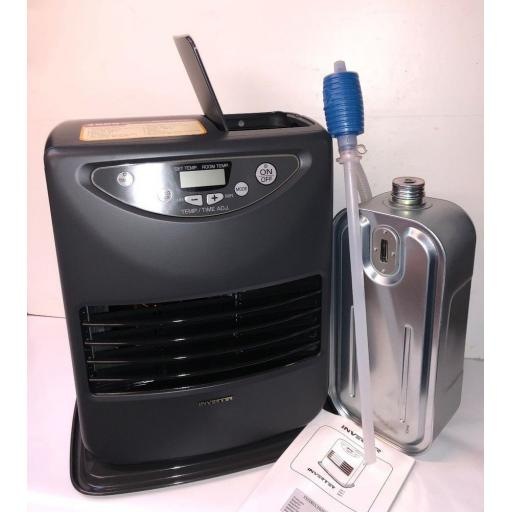 SPECIAL OFFER INVERTER 3017 3000w 3kw Indoor Paraffin Kerosene Heater ODOURLESS