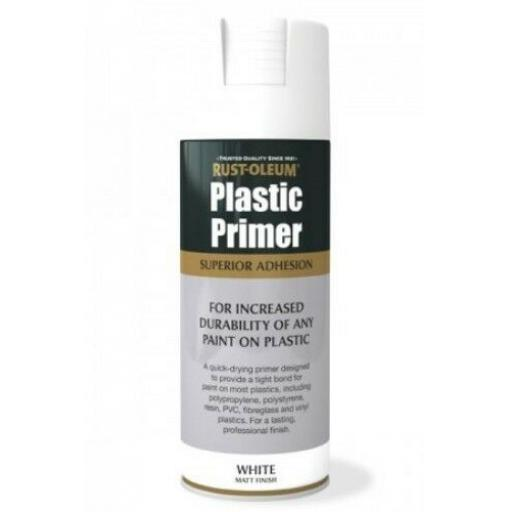 PLASTIC PRIMER RUST-OLEUM Fast Dry Spray Paint Aerosol 400ml