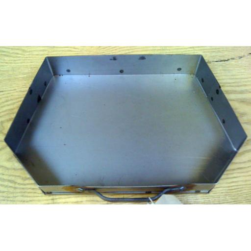 "Classic 18"" Inch Heavy Duty Welded Ash Pan Coal Fires Fire Grate fits Beacon"