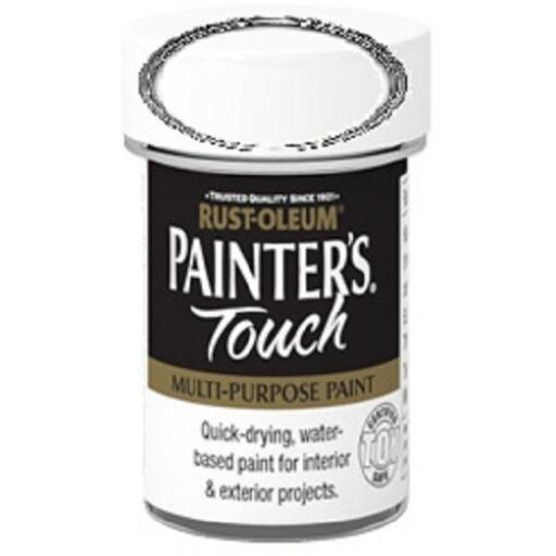 RUST-OLEUM Painter's Touch TOY SAFE Interior Exterior Brush Paint Pot Tub 20ml