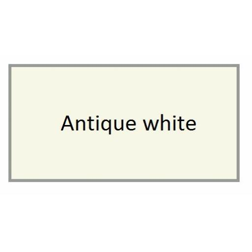 ANTIQUE WHITE GLOSS Enamel TOY SAFE Interior / Exterior Brush Paint Pot Tub 20ml
