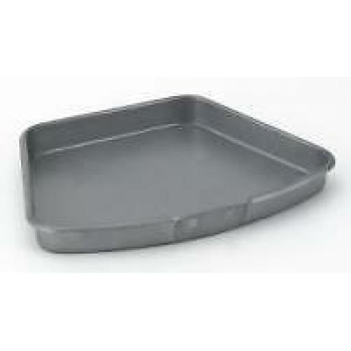 "HEAVY ASH PAN COAL FIRES TO FIT 16"" inch FIRE GRATE CURVED ROUND FRONT"