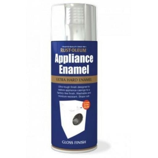APPLIANCE ENAMEL STAINLESS STEEL GLOSS RUST-OLEUM Spray Paint Aerosol 400ml